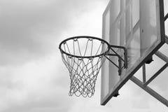 Basketball hoop against on the sky Stock Photo