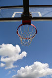 Basketball hoop against sky Stock Photography