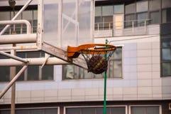 A basketball hoop Stock Image