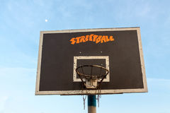 Basketball hoop. Royalty Free Stock Images