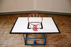 Basketball Hoop from Below Royalty Free Stock Images
