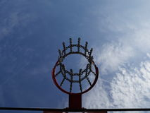 Basketball hoop Stock Photos