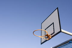 Basketball hoop board Stock Image