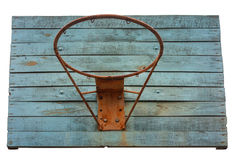 Basketball hoop with cage Stock Photography