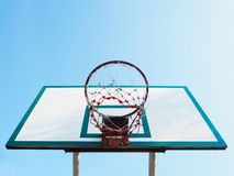 Basketball hoop cage Stock Photography