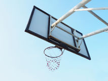Basketball hoop cage Royalty Free Stock Photography