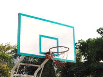 Basketball hoop cage Royalty Free Stock Photos