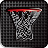 Basketball hoop close up Royalty Free Stock Image