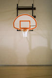 Basketball Hoop and Court Royalty Free Stock Images