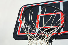 Basketball hoop isolated Stock Photo