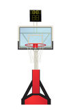 Basketball hoop. Isolated object against white background Royalty Free Stock Image