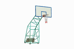 Basketball hoop. Isolated on white background Royalty Free Stock Photography