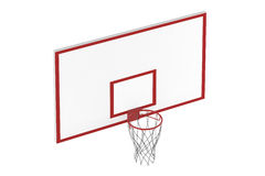 Basketball hoop isolated Royalty Free Stock Image