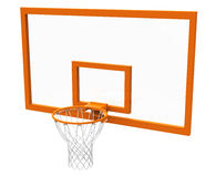 Basketball hoop. Is modelled and rendered Stock Images