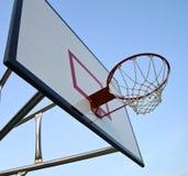 Basketball hoop with net Stock Image
