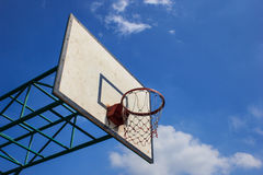 Basketball hoop Stock Images