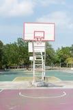 Basketball hoop Royalty Free Stock Image