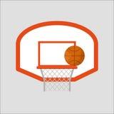 Basketball hoop sport basket vector illustration. Stock Photos