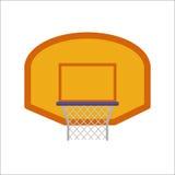 Basketball hoop sport basket vector illustration. Royalty Free Stock Photos