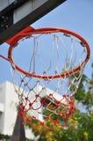 Basketball hoop. Sport day basketball in school Royalty Free Stock Photos