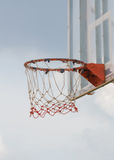 Basketball hoop stand Stock Images