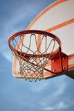 Basketball Hoop and Standard Stock Image