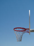 Basketball Hoop Sunny Day Royalty Free Stock Photos