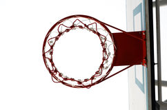 The basketball hoop Stock Image