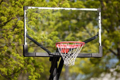 Basketball Hoop. Up close Royalty Free Stock Images