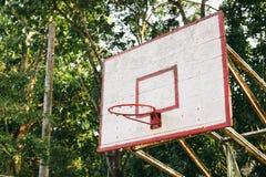 Basketball hoop Stock Image