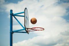 Basketball hoops Stock Photos