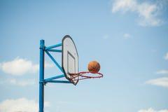 Basketball hoops Royalty Free Stock Photos