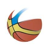 Basketball icon. Isolated on white background Royalty Free Stock Image