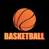 Basketball icon Royalty Free Stock Photo