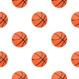 Basketball icon cartoon. Single sport icon from the big fitness, healthy, workout cartoon. Royalty Free Stock Images