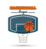 Basketball icon design Stock Photography