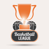 Basketball icon design Stock Images