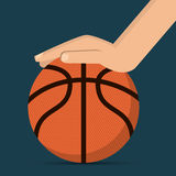 Basketball icon design Royalty Free Stock Image