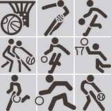 Basketball icon Stock Photo