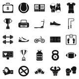 Basketball icons set, simple style. Basketball icons set. Simple set of 25 basketball vector icons for web isolated on white background Stock Photo