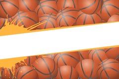Basketball illustration Royalty Free Stock Photography