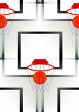 Basketball illustration Stock Images