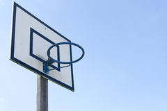 Basketball im Freien Stockfoto