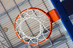 Basketball indoor court Royalty Free Stock Photography