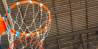 Basketball indoor court Stock Photography