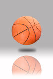 Basketball isolated. On gray background royalty free stock photography