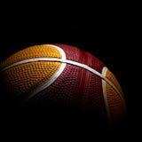 Basketball isolated on black background Stock Image