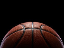 Basketball isolated on black Stock Images