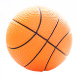 Basketball. Isolated basketball on white background Royalty Free Stock Image