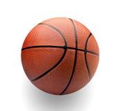 Basketball. Isolated on white background Stock Photos
